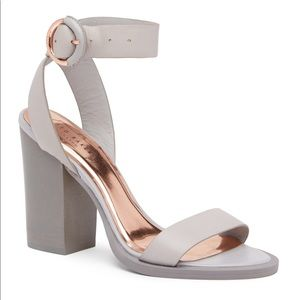Ted Baker London Betciy Leather Heeled Sandals!
